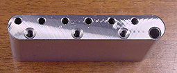 Callaham Tremolo Block near mirror finish on mating surface