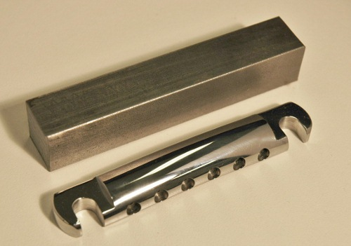 Callaham Cold Rolled Steel CNC Machined Gibson Stopbar Tailpiece