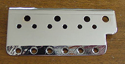 Current Fender production and Custom Shop Top Plate